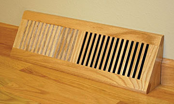 1 Floor Heat Registers Vent Covers