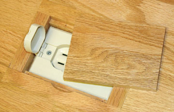 Grillworks inc for Floor electrical outlet